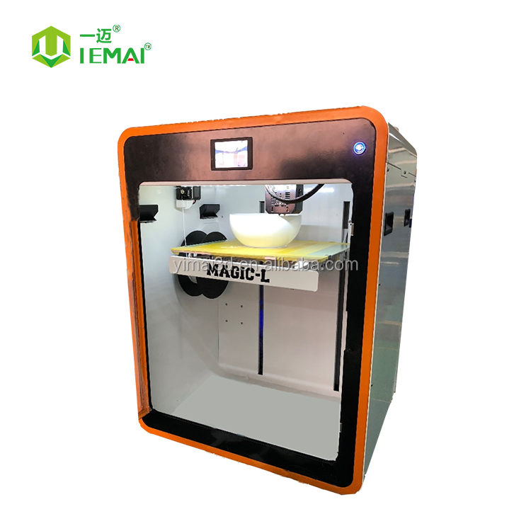 310*310*480mm metal-frame impresora 3D constant chamber temperature 3D printer with dual <strong>nozzle</strong>