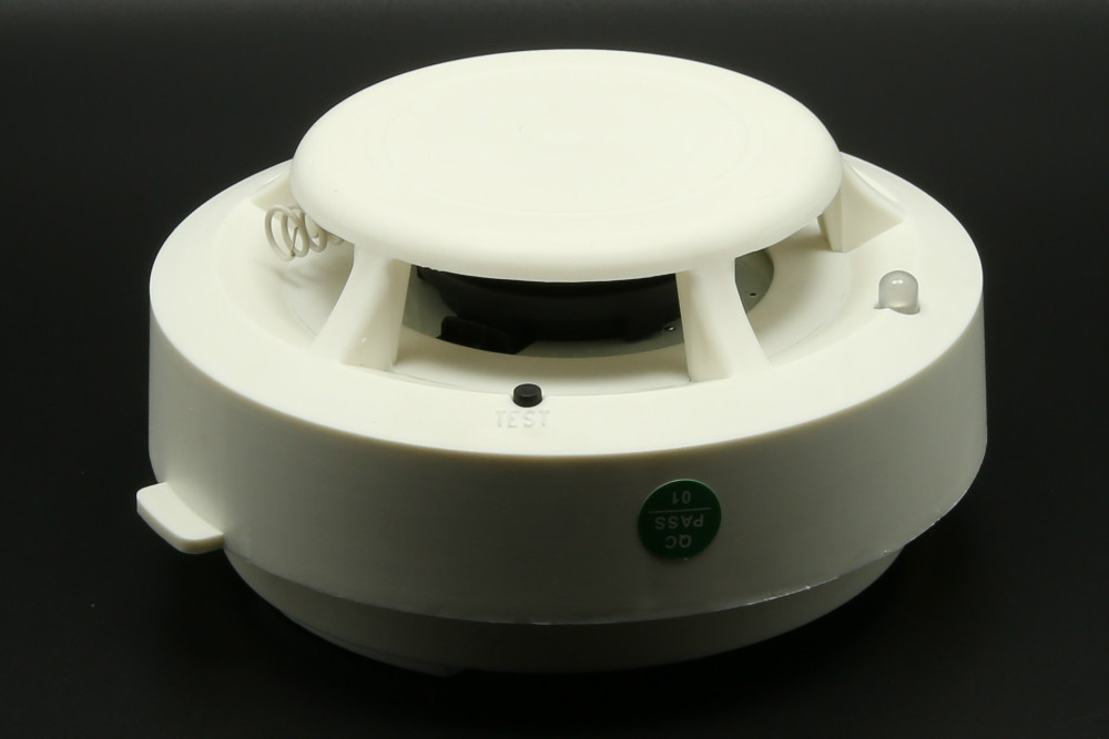 Wireless smoke detector fire alarm spy camera