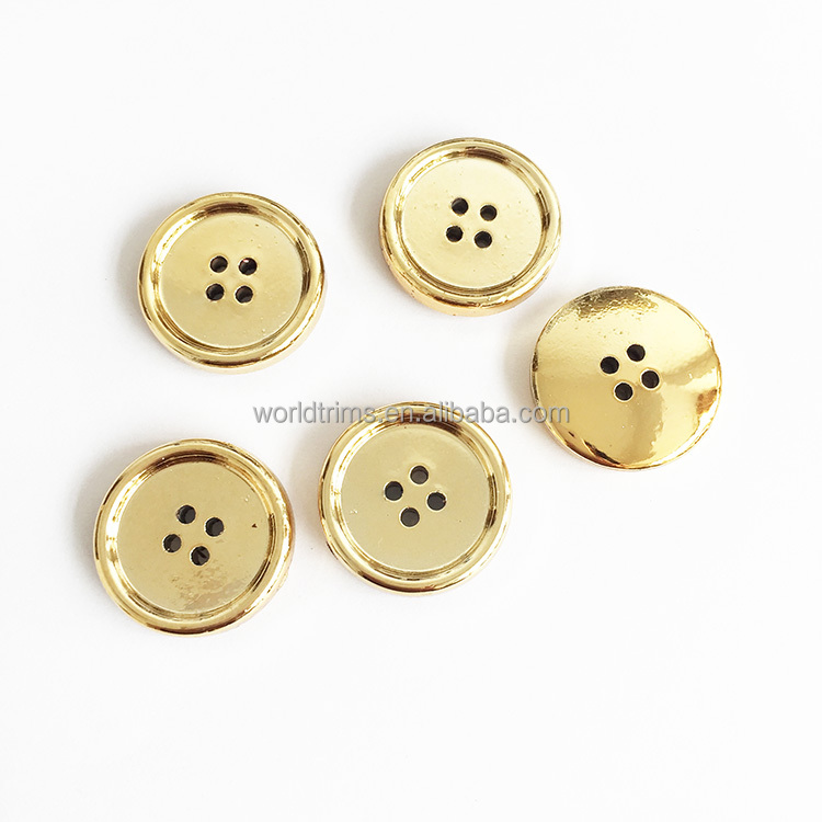 Bulk price 4 holes snap sewing ABS plastic button for garment