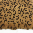 Luxury Faux Leopard Fur Cheetah Print Fabric Artificial Fur fabric by the Yard for Home Decoration Photo Prop Make up Bag