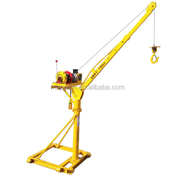 Mini Building Hoist Roof 500kg Goods Lift Manufacture Small Electric Hoist