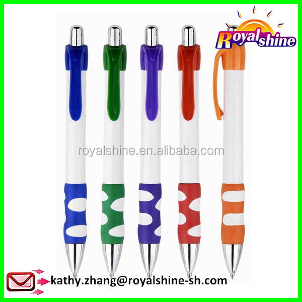Shanghai supplier gift promotional ball pen cheap plastic pointball pen