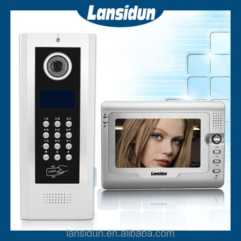 5 Wire Multi Apartment Video Door Phone Intercom System