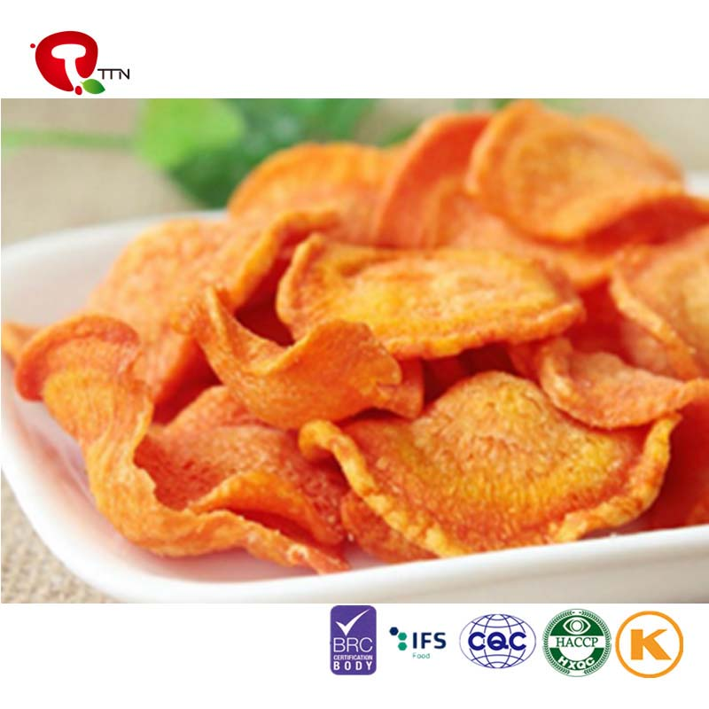 2016 Hot Sale Dehydrated Carrot Vegetable Chips