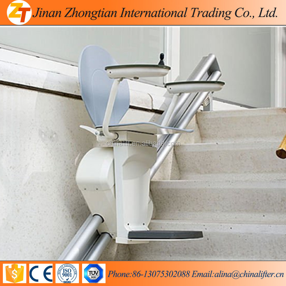 Hydraulic Stationary Stair Climbing Wheel Chair Lift With