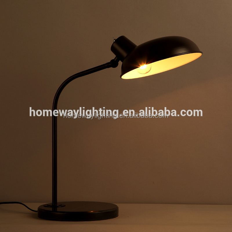 High luminous dimmable office table lamp green SAA approval industrial desk lamp