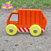 Colorful kids wooden mini toy car for Christmas gift W04A125
