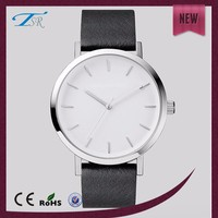 3 ATM Resistant Black Mov't Water Japan Movt Quartz Watch Stainless Steel Case Back