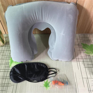 Inflatable Airplane Pillow Small U Shape Headre Neck Travel Pillows