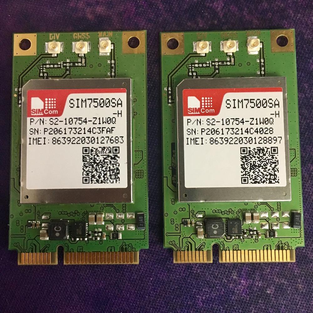 Simcom Lte 4g Modules Sim7500 High Speed Mini Pcie Module Wireless Module -  Buy Iot Modules,Simcom 4g Module,M2m Application Module Product on