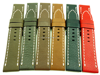 Newest 100% USA Waterproof Full Grain Leather Watch Straps