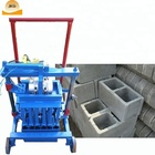 Widely used electric hollow concrete cement block brick making maker machine price for sale In USA Ethiopia Zambia Ghana Kenya