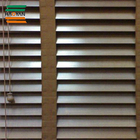 Fancy Window wooden Basswood Venetian Blind Slats