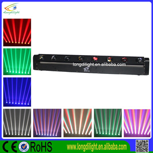 LED Moving ACL Effect 8x10W Moving 4in1/ White DJ Sweeper Beam LED