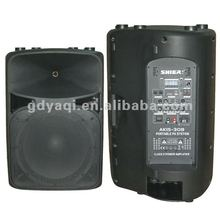 Stage speaker box ,single speaker audio system pro speaker box AK15-308