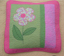Popular decorative latest design cushion sofa pillow covers hand quilted patchwork cushion