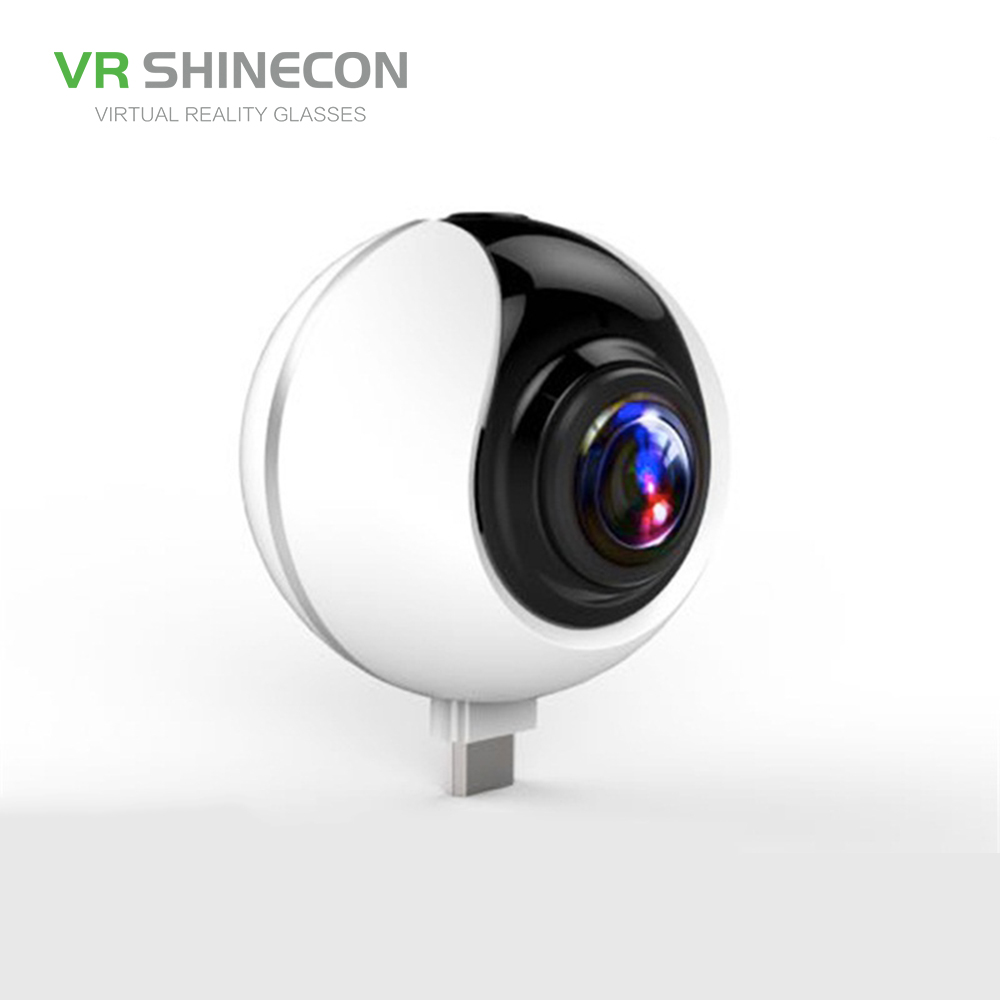 2017 Trending Products OEM Shinecon small round wireless cctv cellphone 360 720 panoramic camera