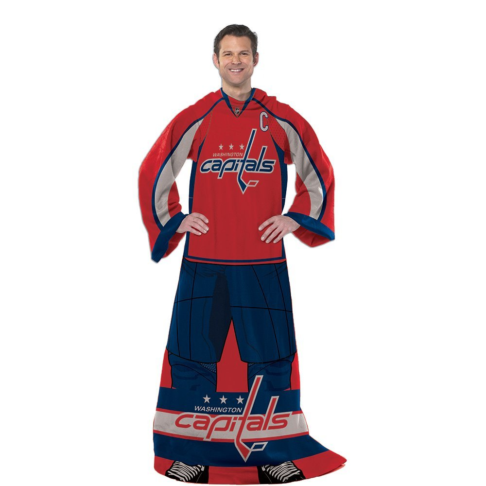 Get Quotations · The Northwest Company Adult Unisex Northwest NHL  Washington Capitals Comfy Throws 4f944cc1b