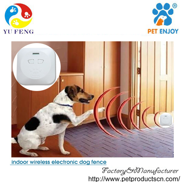 Water Resistant wireless Dog Fence System with 1 Shock Collar for Dog