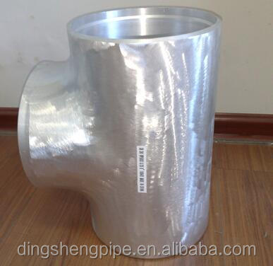6061 t6 Aluminum pipe fittings aluminum seamless equal tee