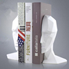 folding creative resin brain decoration bookend