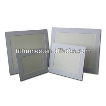 Newest Recycled Acid Free White Paper Photo Frame 4x6 5x7 8x10 A4 ...