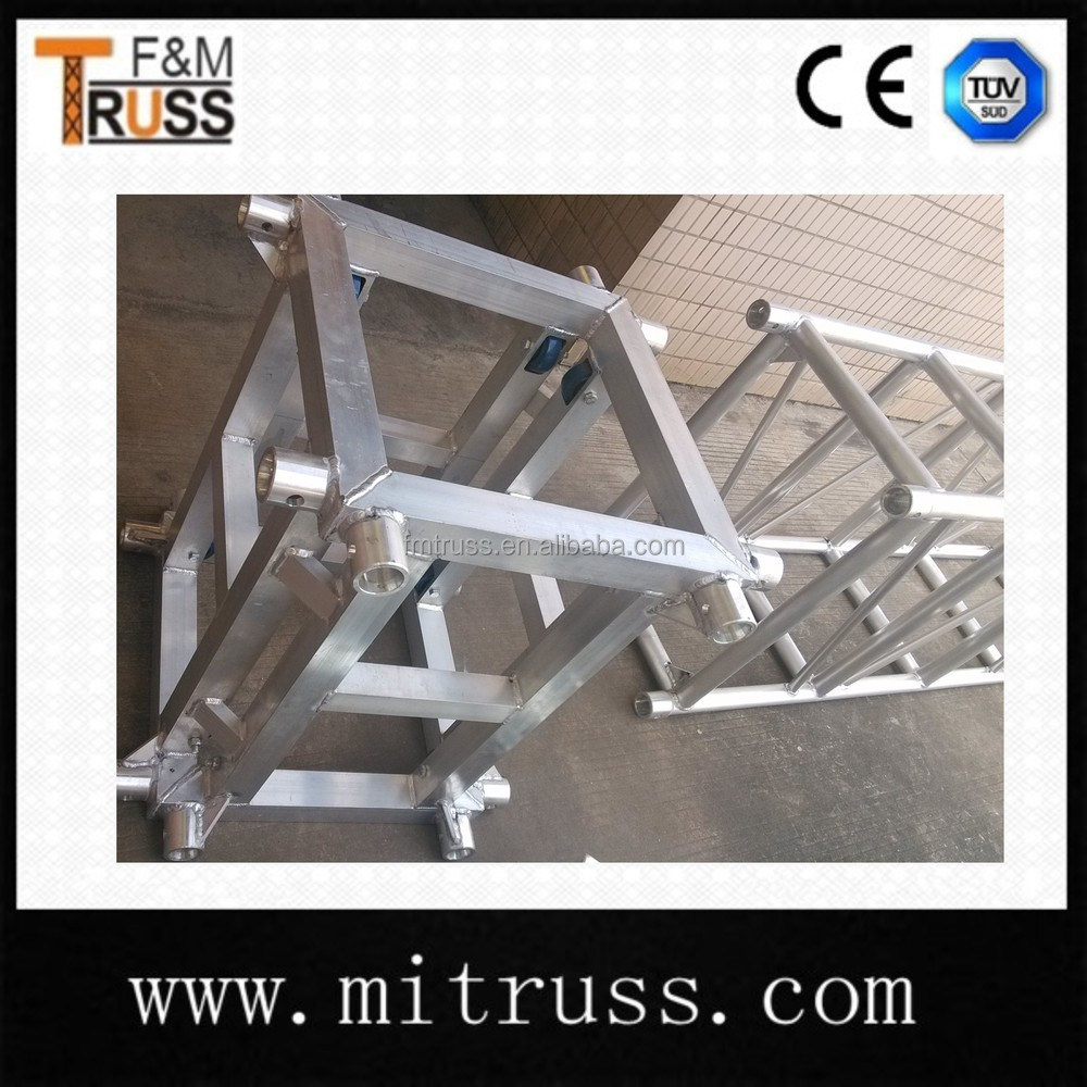 400 400mm cheap price aluminum truss box truss for sale for Cheap trusses for sale