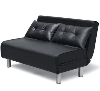 Hot Sale Black Faux Leather Pu Foldable Sofa Bed For Living Room - Buy Sofa  Bed,Leather Corner Sofa Bed,Living Room Sofa Bed Product on Alibaba.com