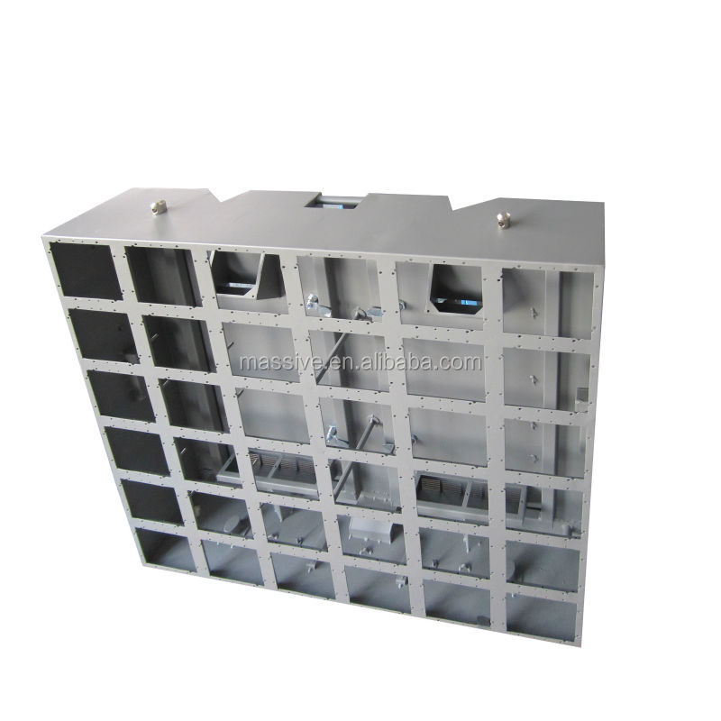 Shenzhen led screen parts-standard full color outdoor and indoor led display cabinet