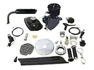 Black Flying Horse 66cc/80cc Bicycle Engine Kit Gas Motorized Bicycle