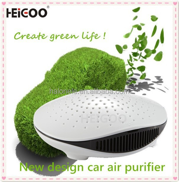 2015 newest hot sell car air purifier portable air refresher with fashionable design