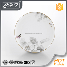 Porcelain wholesale royal catering wedding show plates for hotel
