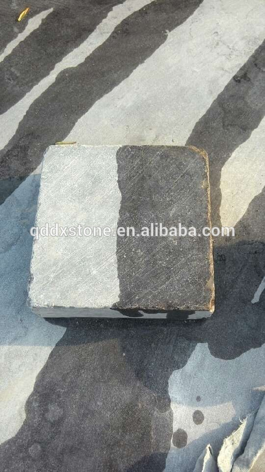 Aserrada y cay de color gris piedra caliza pavimentos - Piedra caliza precio ...