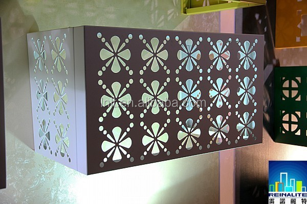Aluminum air conditioner cover,fireproof aluminum decorative panels