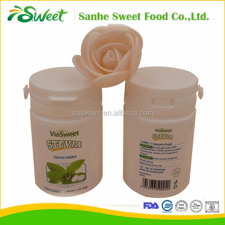 50 times sweetness instant soluble stevia sweet tablets
