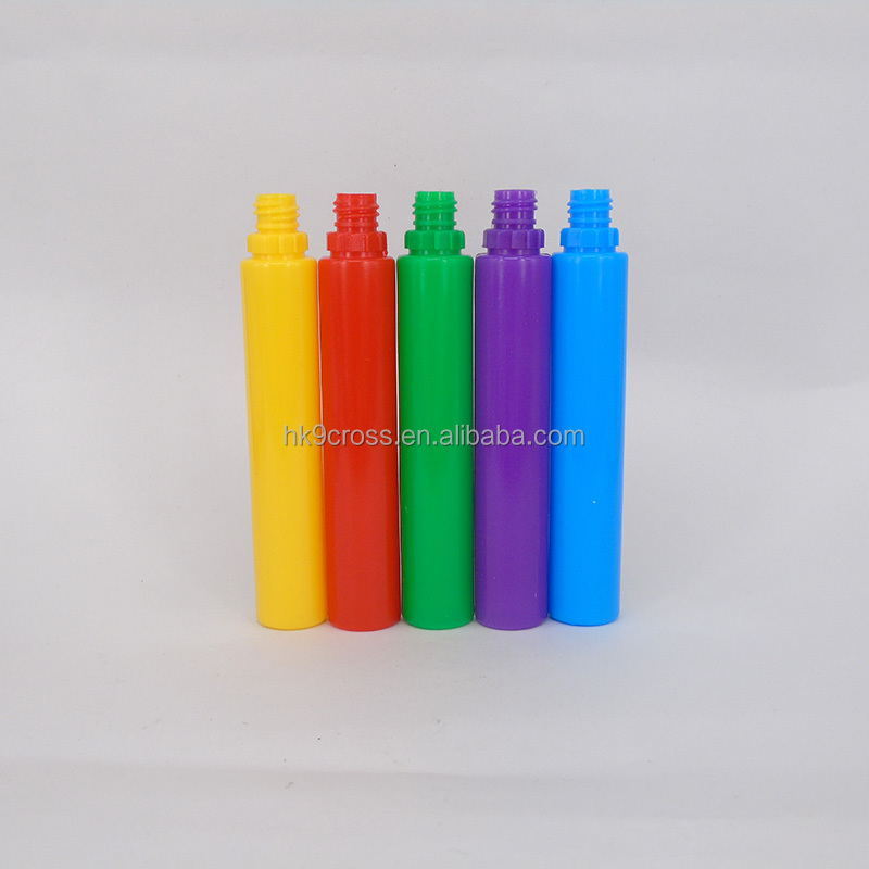 Customized colorful plastic 30ml e liquid bottle with childproof cap 1oz e juice bottle