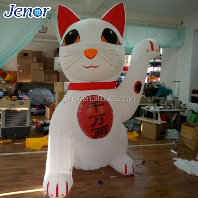 2017 lovely giant advertising inflatable lucky cat inflatable fortune cat & lucky cat inflatable-Source quality lucky cat inflatable from Global ...