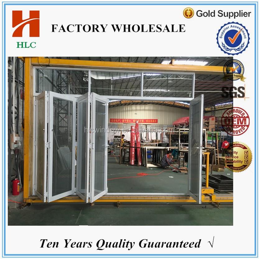 Factory Price Aluminum Exterior Glass Folding Doors - Buy Exterior ...