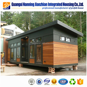 New Design Fire Resistant 40 ft flat pack prefabricated container houses