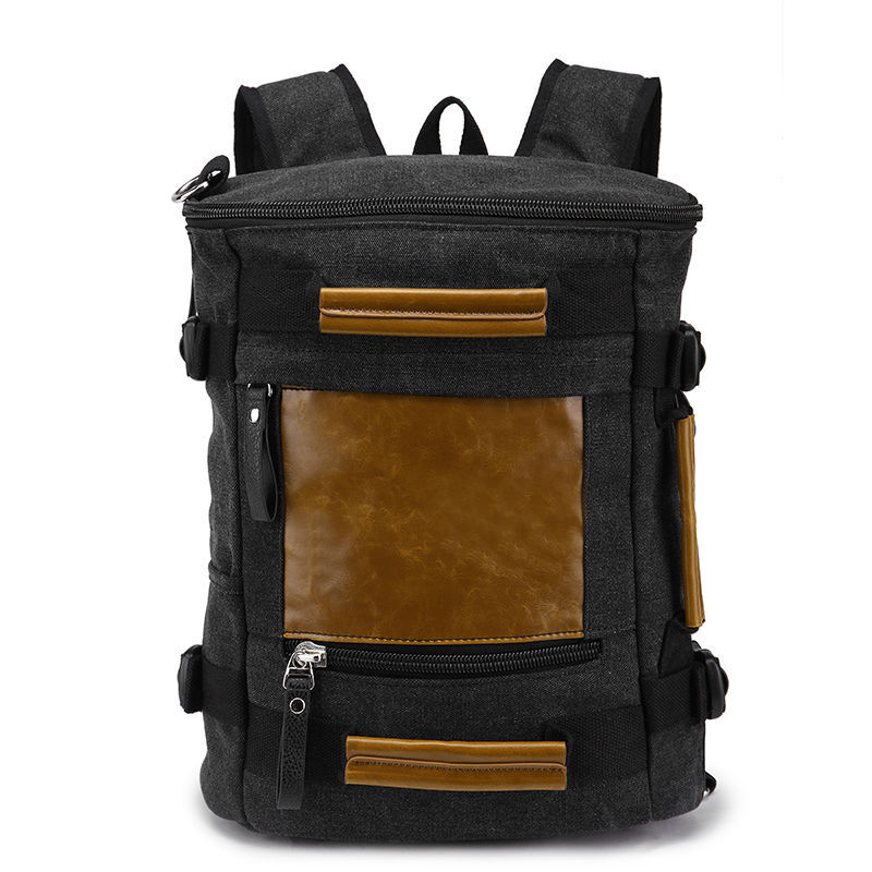 Top Brand Canvas Bag for Notebook 13 14 Inch Men Laptop Backpack Rucksack Men's Backpacks Computer Bag 15 Laptop Bag