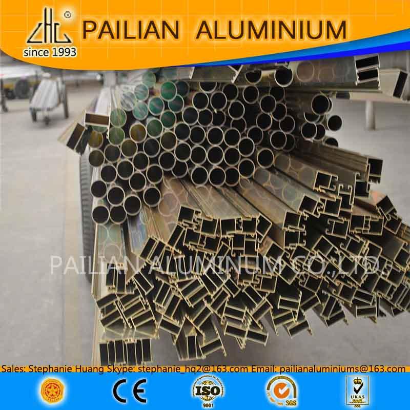 China Golden Alu Profile Supplier Natural Anodized Aluminum ...