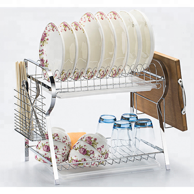 Simple Style Metal Wire Kitchen Dish Drying Rack - Buy Dish Drying  Rack,Metal Dish Rack,Kitchen Wire Racks Product on Alibaba.com