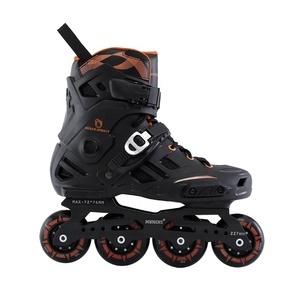 Month Top Customized CNC Chassis PP Shell PU Flashing Wheels Electric Roller Inline Skates With High Quality