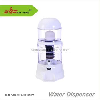 4 Gallon Countertop Desktop Water