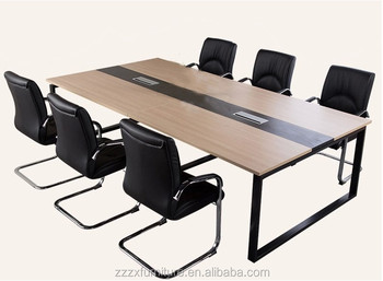 Moderne business meubels bureau hout computer bureau met mfc