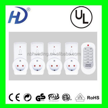 home appliance automation remote control switch with CE/GS/ROHS/BSCI
