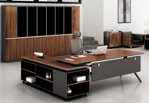 Office Desk Design guangzhou stylish government office furniture l shaped wooden