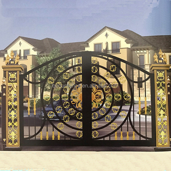 Boundary Wall Gate Design Iron Exterior Doors Oydm 20 Buy Boundary