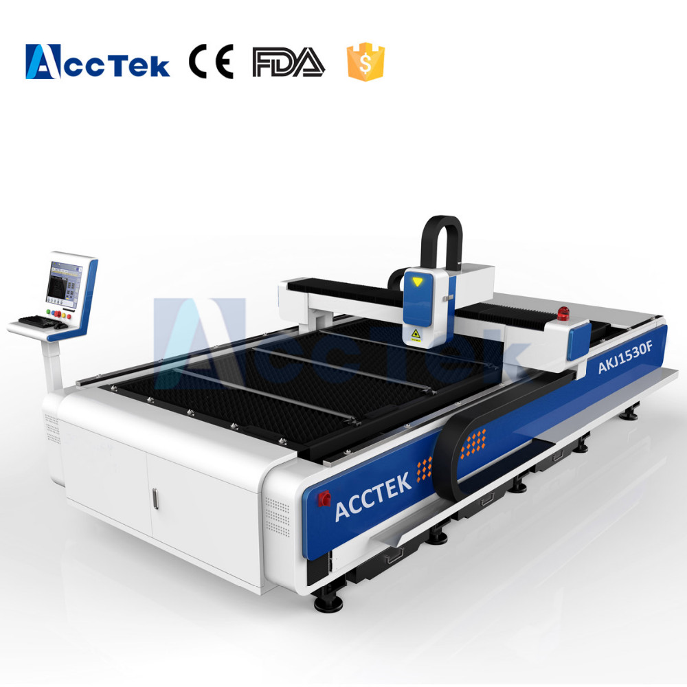 AKJ1530F fiber laser cutting machine