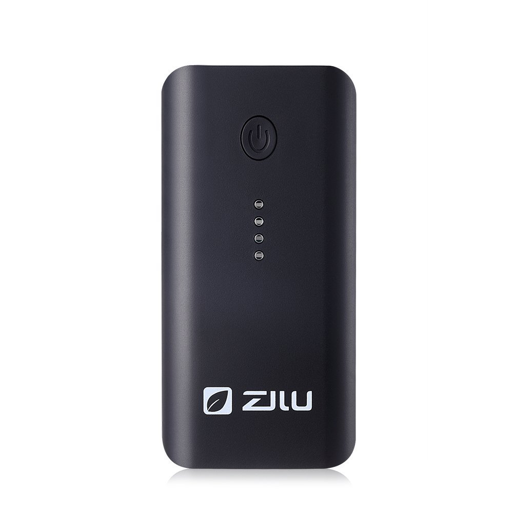 ZILU Smart Power Basic 4400mAh Portable Charger External Battery Pack Backup Power Bank for iPhone 6 Plus 5S 5C 5 4S, iPad Mini, Samsung Galaxy S6 S5 S4 Note, Nexus, HTC, Motorola, Nokia, PS Vita, Gopro, more Phones and Tablets (Black)